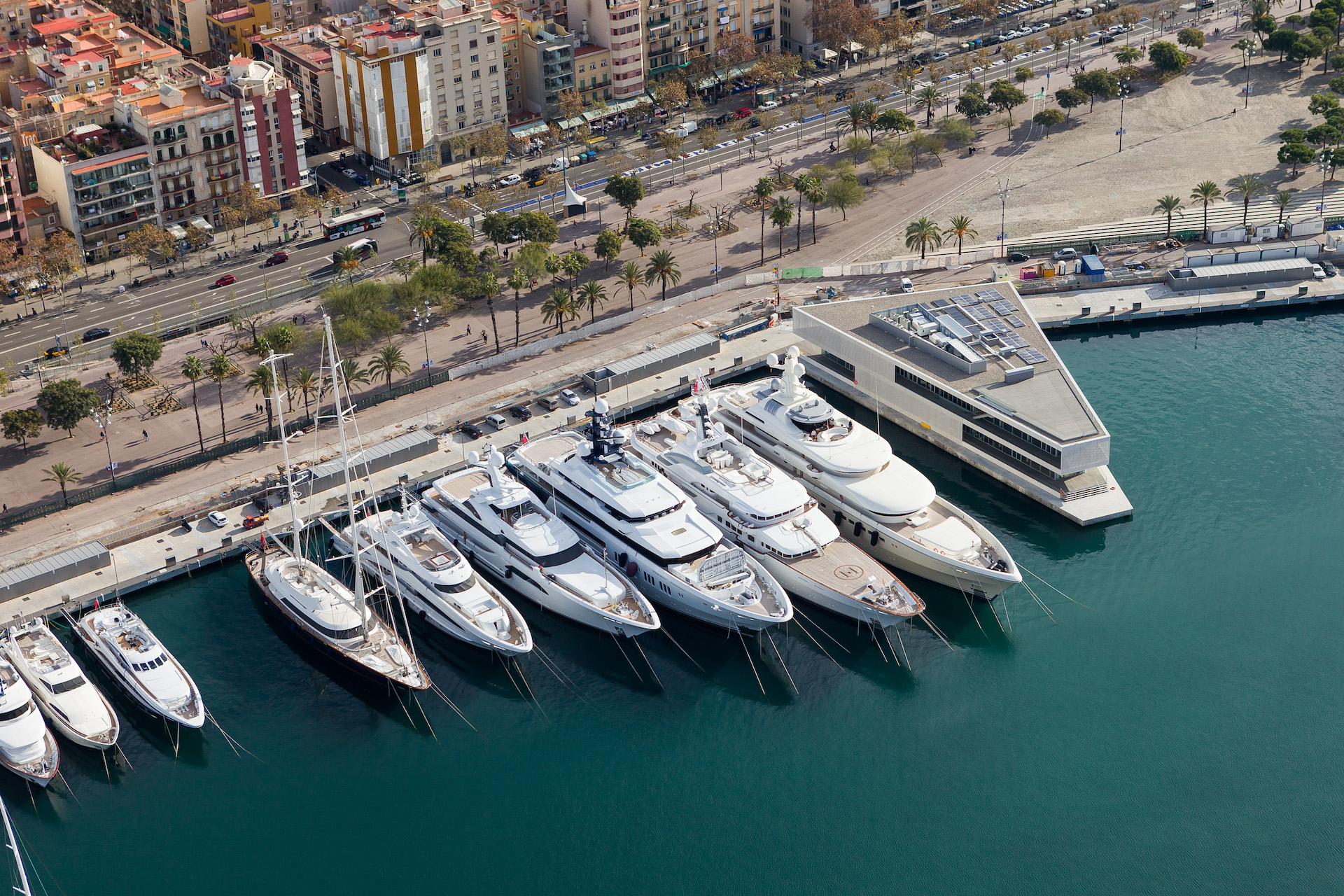 Barcalona is the new hotspot for billionaires and their superyachts